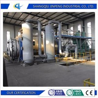 Waste Plastic Recycling Machine / Extract Fuel Oil from Waste Plastic Pyrolysis Plant