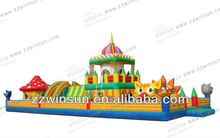 68 foot inflatable interactive obstacle combo games