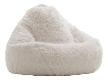 Wondrous 44 X 44 X 24 Inches Teardrop White Fur Bean Bag Sofa Lounger Living Room Luxury Beanbag Sofa Seat Chair Buy Faux Fur Beanbag Chair Long Beanbag Sofa Creativecarmelina Interior Chair Design Creativecarmelinacom