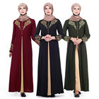 Zakiyyah Z180502 Fashion Newest Design Black Muslim Islamic Clothing For Women Abaya Long dress