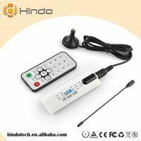 DVB T2 Receiver Digital Media Player Mini USB 2.0 Digital DVB Analog TV Stick, Support FM + AV + DVB-T / T2 / C