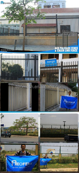 Project in Cambodia,Palisade Fence,Chain Link Airport Fence