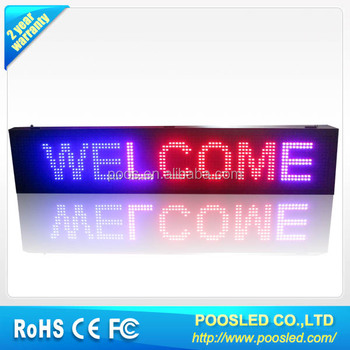 Outdoor Led Moving Message Display Board Buy Led