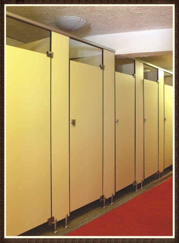 Bathroom Partition Wall Set supermarket/school/gym room hpl panel toilet partition - buy
