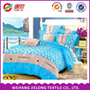 100% cotton cambric printed fabric bedding set