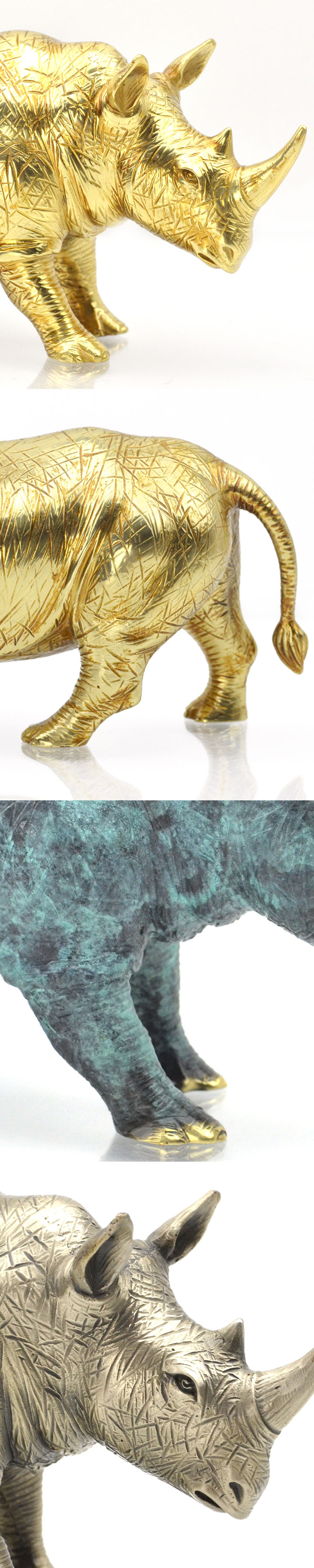 Luxury House Living Room Table Accessories 3D Pieces Animal Metal Art Gifts Crafts Items Home Decoration