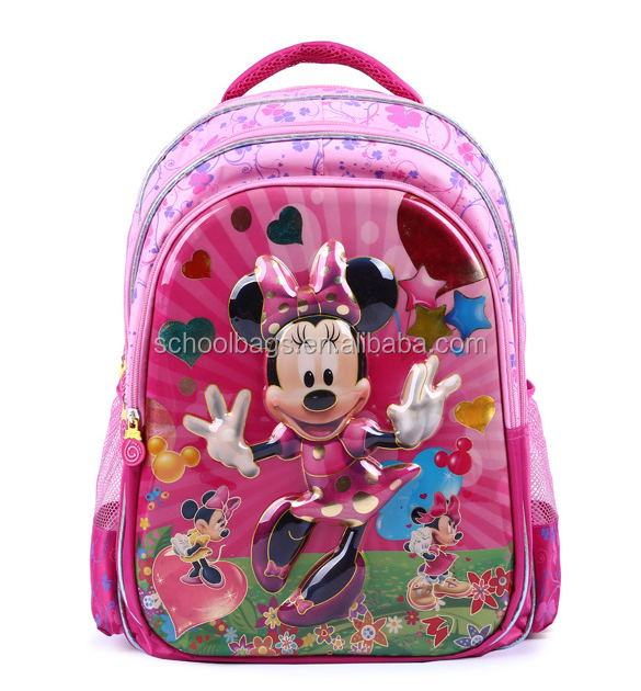 Children School Bags For Girls Schoolbag Cartoon Kids Book School Backpacks Mochila Infantil Waterproof School Bag Bright Luster School Bags Luggage & Bags