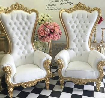 Hotel Royal High Back Throne Chair For Wedding
