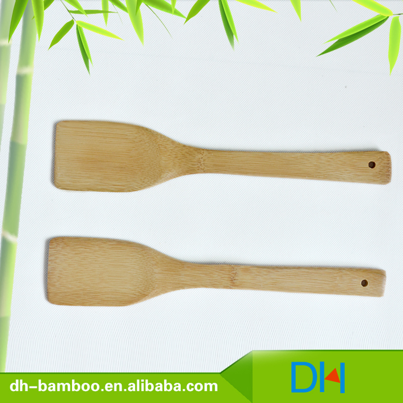 Wholesale High Quality bamboo Spatula/spade/shovel,antique colorful wooden&kids spoon