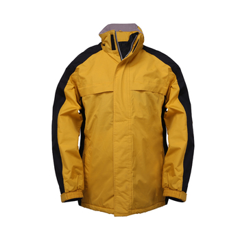 Customized Design Industrial Safety Outdoor Cheap Clothing Men's Warm Winter Workwear Security Jackets