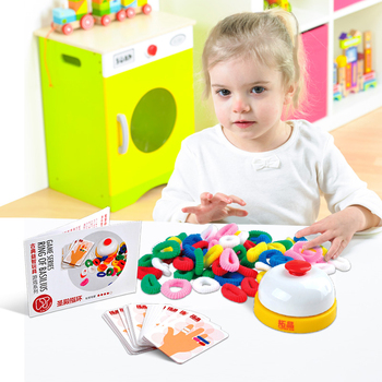 gifts for kids 3d puzzle Tattoo Tombs Ring Set Puzzle Interactive Paternity Game diy toys set