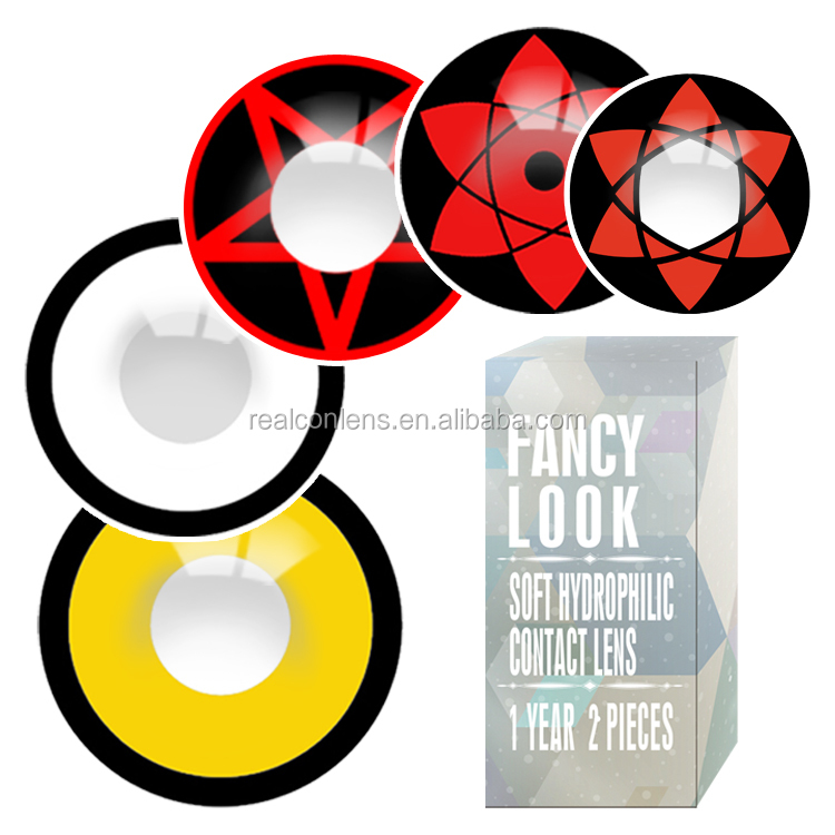 Realcon Crazy Lenses Wholesale Halloween Cosplay Contacts Lenses