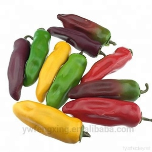 High simulation polyfoam faux artificial chili pepper for home decoration