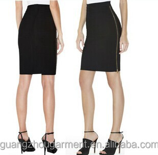 Factory Price Black Formal Skirt,Tight Black Skirt New Womens ...