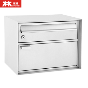 Popular Products Aluminum Mailbox Wall Mounted Box Galvanized Mailbox