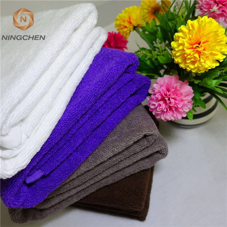 Hotel linen/China factory luxury customized color 100% cotton bath towel,hotel towel sets