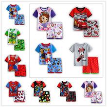 Summer kids clothes sets boy t shirt pants suit clothing set Clothes newborn sport suits baby