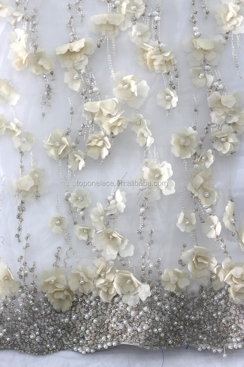 2016 china wholesale beaded tulle fabric brocade lace for Wholesale fabric