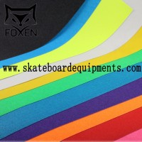 2017 hot selling Colored Skateboard Griptape,Custom skateboard grip tape with printing logo