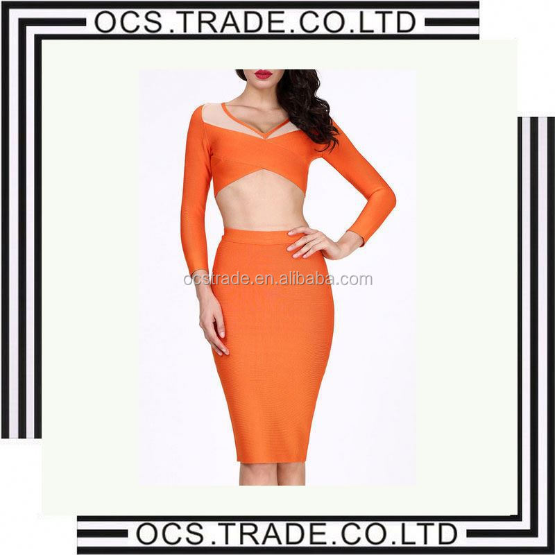 2015 hot sale sexy revealing fashion style dresses for prom