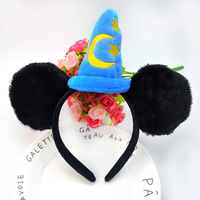 Fashion Mickey & Minnie design holiday children chirstmas hairbands for party