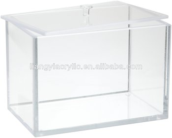 Great Clear Acrylic Storage Box With Lid Factory