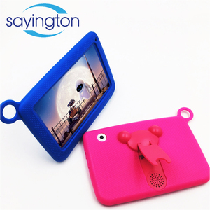 Professional manufacturer factory supply blue white pink 7inches android 4.4 children tablet pc