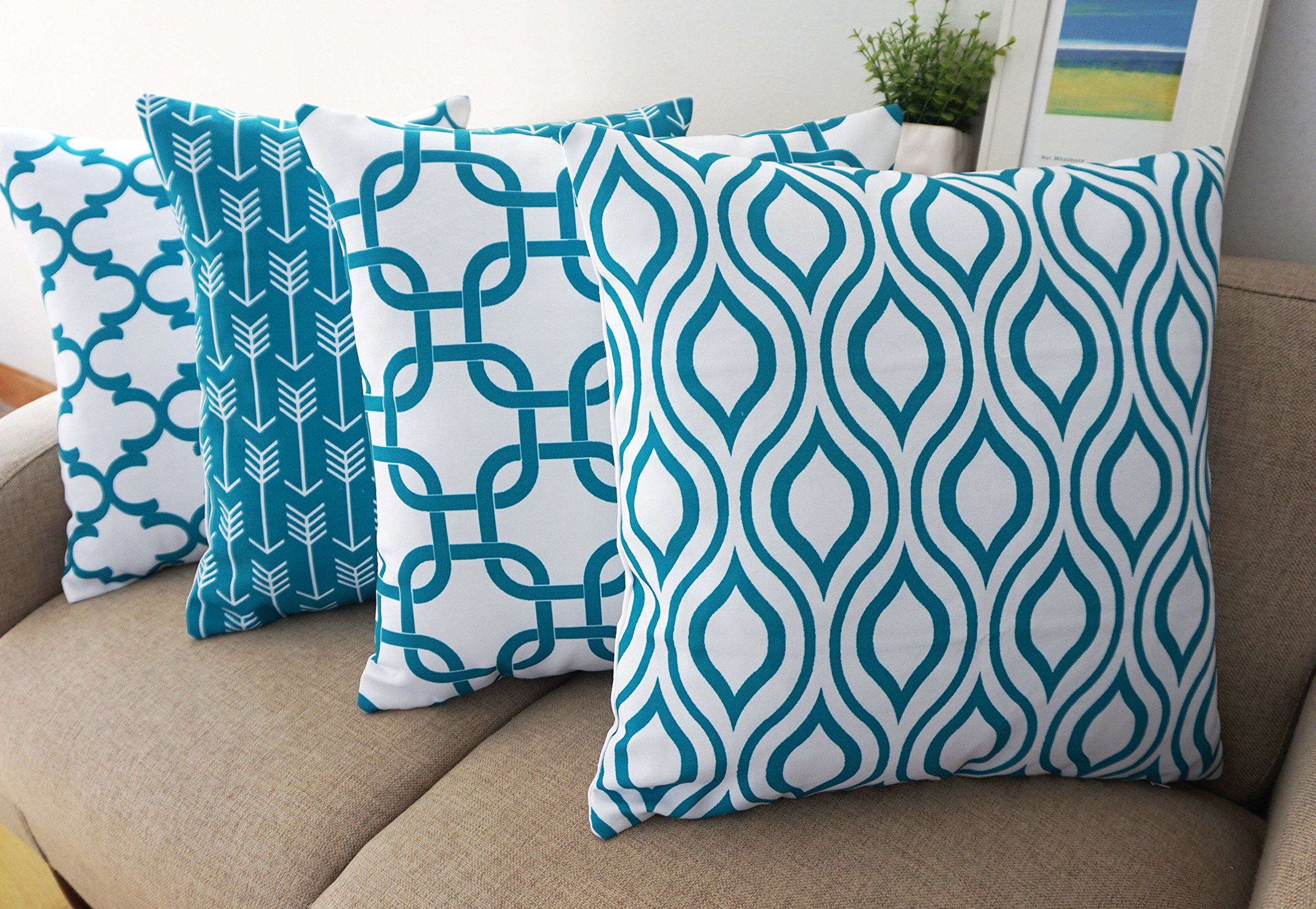 pillows products set isofa kevin topaz teal of accent accessories polyester pillow