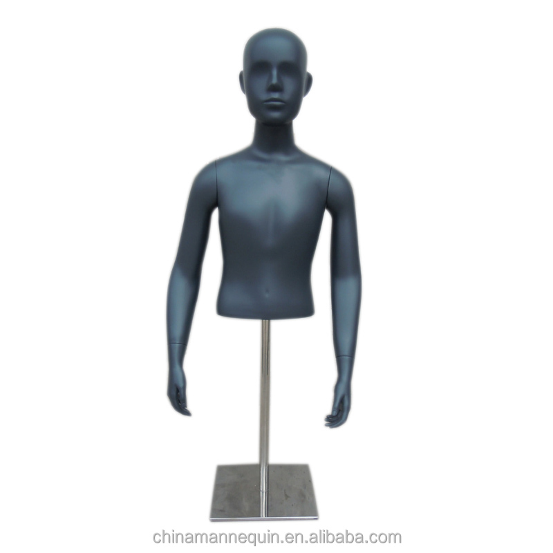 Half Body Black Torso Kids Mannequin - Buy Kids Torso Black Mannequin,Black  Torso Kids Mannequin,Half Body Black Torso Kids Mannequin Product on