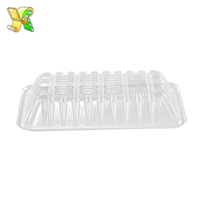 Bar salad ice tray food drink containers cold food tray plastiek food tray