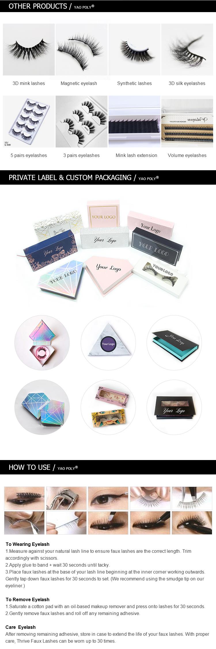 Groothandel mink wimpers custom verpakking 16 pairs lashes plastic tray boek met uw logo