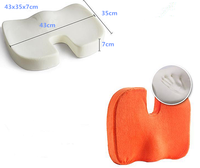 Cushion100% Polyurethane Visco Elastic Memory Foam Seat Coccyx Cushion
