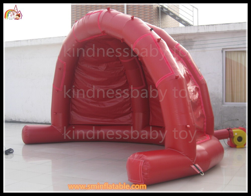 inflatable tradeshow tent Inflatable hat dom kiosk