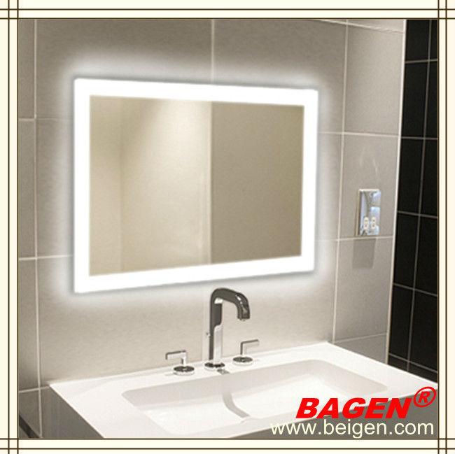 Ba o espejo sin niebla espejo del led iluminaci n led - Iluminacion led para banos ...