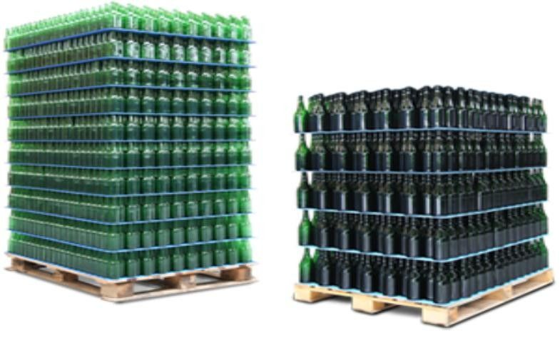 Corrugated Plastic Divider Sheets For Food and Beverage Packing
