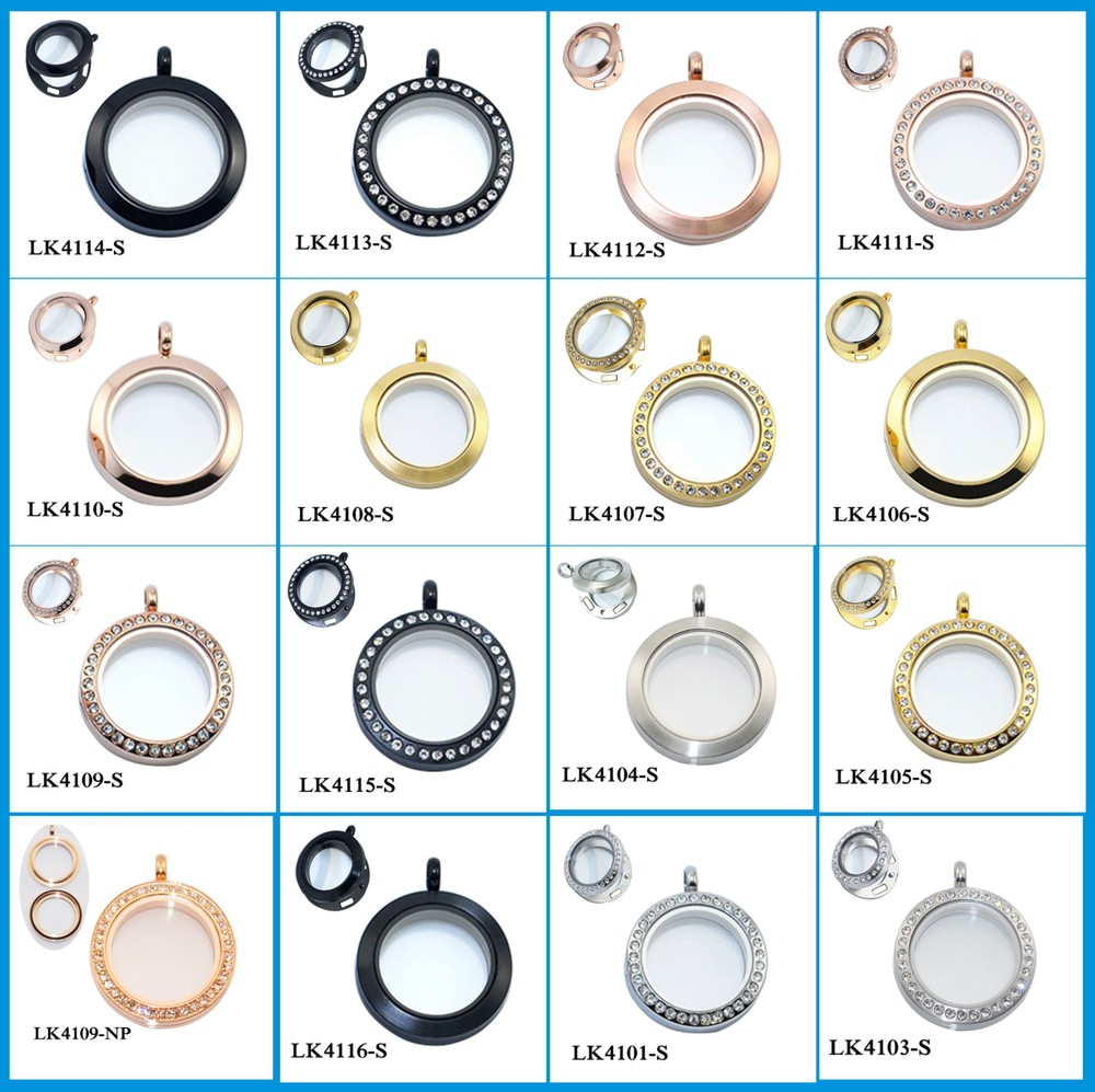 Valentines day gift floating locket necklace wholesale in round valentines day gift floating locket necklace wholesale in round oval heart etc shapes aloadofball Image collections