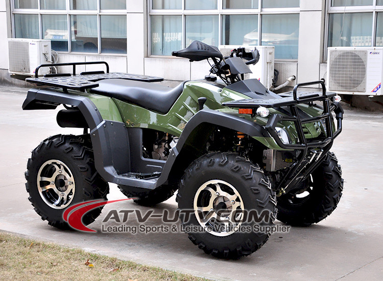 300cc 4 stroke automatic trassmission quad bike 4x4 gas ATV adroit and aggressive