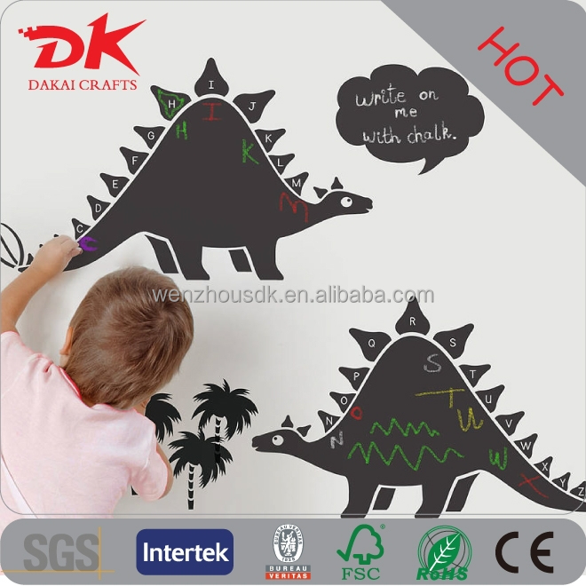 OEM Month schedule Printing chalkboard wall sticker, creative chalkboard labels
