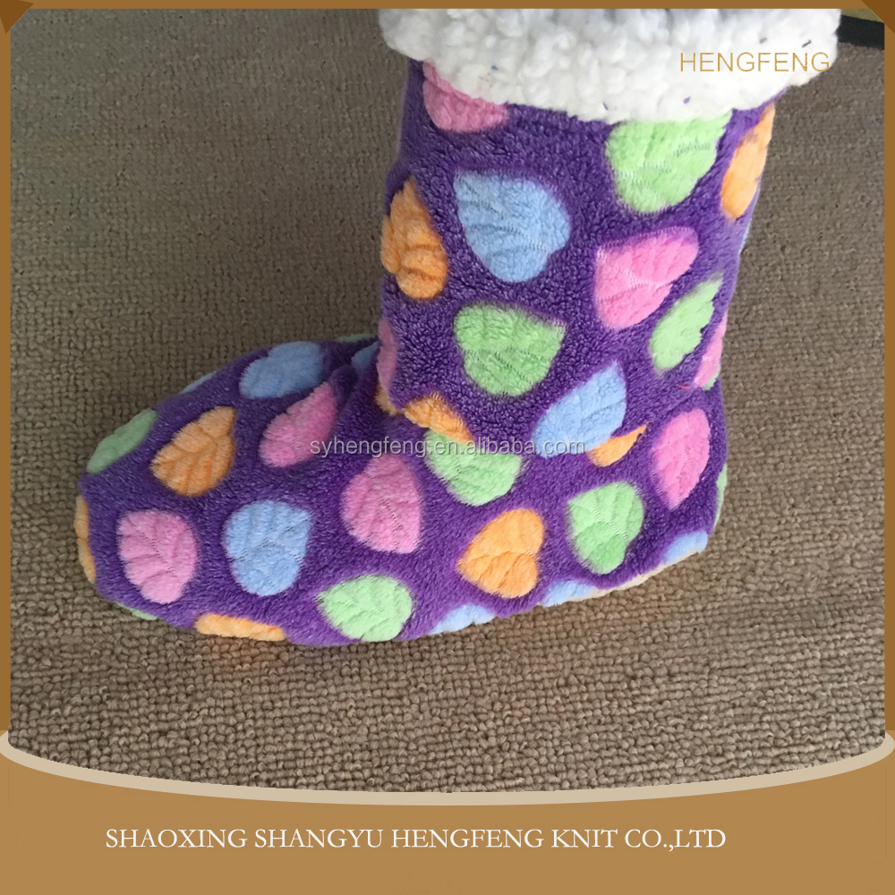 China manufacturer custom home floor wholesale women socks, soft cozy socks