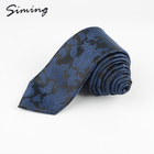 Chinese supplier wholesale promotional woven 100% polyester classic paisley tie necktie