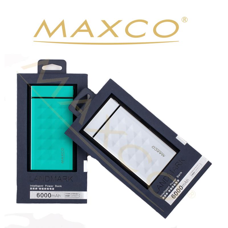 Maxco Promotional Credit Card Power Bank/rohs Power Bank 6000mah ...