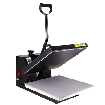 "Industrial-Quality Digital Sublimation T-Shirt Heat Press Machine large format 15""x15"" Black"