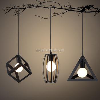 decorative pendant lighting. Home Decorative Pendant Lighting Modern Indoor Geometric Light For  Living Room E