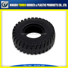 molded rubber tyre with high quality