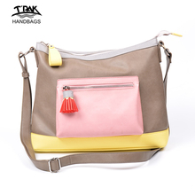 China supplier OEM 2018 trending products ladies PU leather personalized crossbody handbags