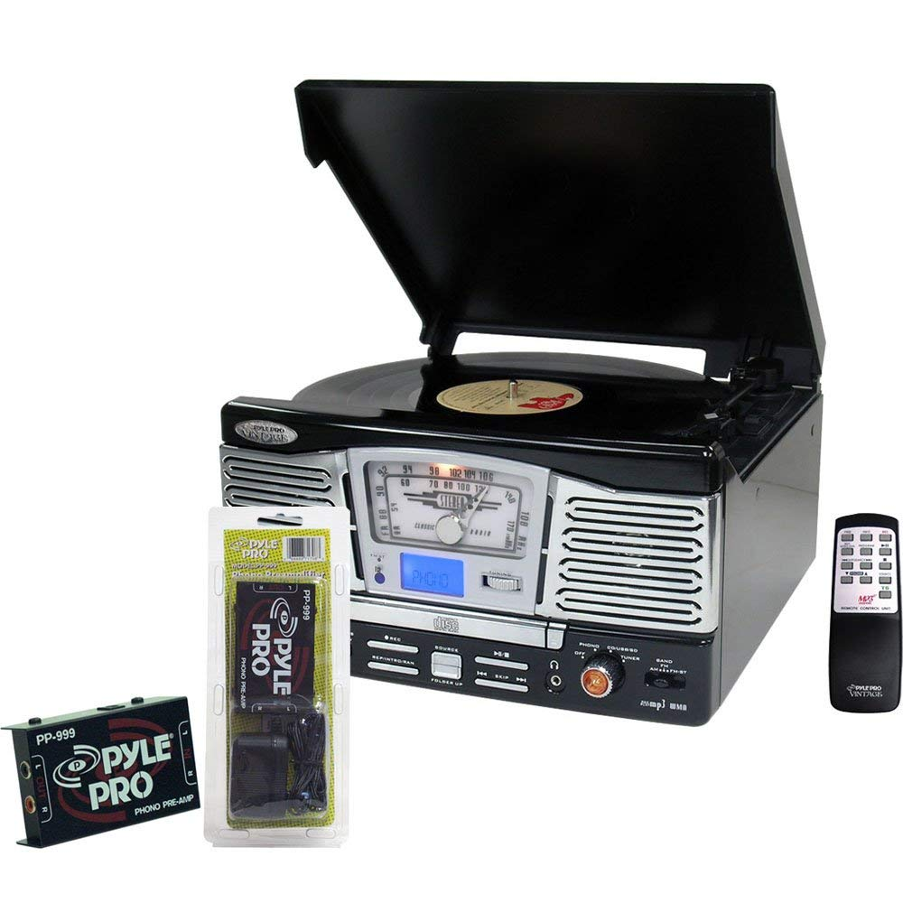 Cheap Amplifier Turntable Find Deals On Line At Vinyl Pre Get Quotations Pyle Record Player And Package Ptcd8ub Retro Style With Cd