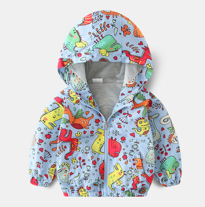 Children s jacket 2019 autumn new boy s jacket, emergency coat, children s windbreaker wholesale