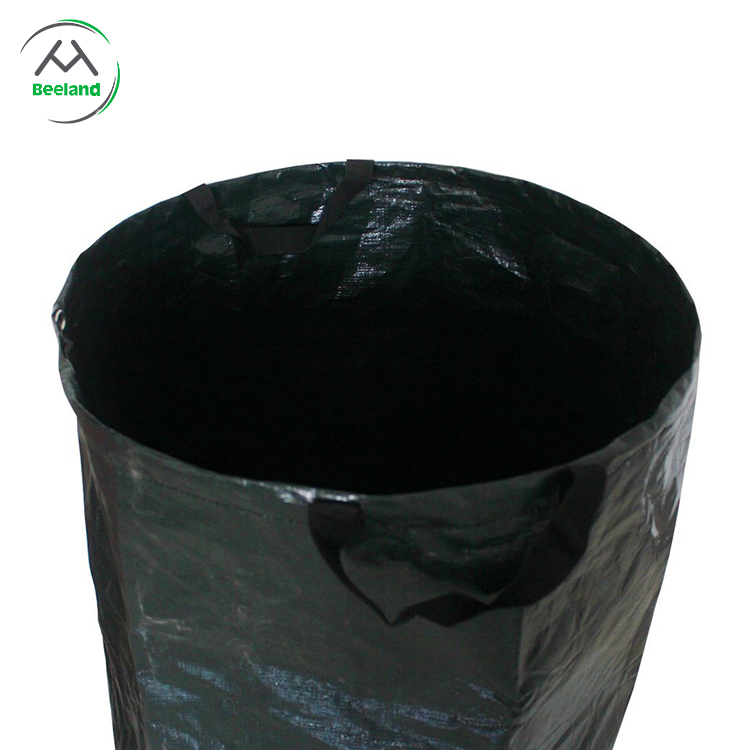 Made in china folding garden waste woven bag
