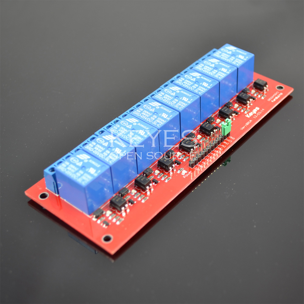 Free shipping!  8 Channel 5V relay Module with Opt...