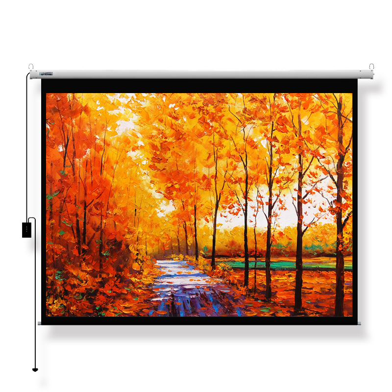 "120"" 16:9 Luxurious Cinema Electric Projection Screen 3V0120MEH-S(R)"